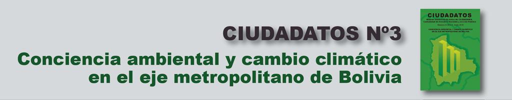 CIUDADATOS Nº3