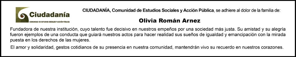 Banner Olivia Román